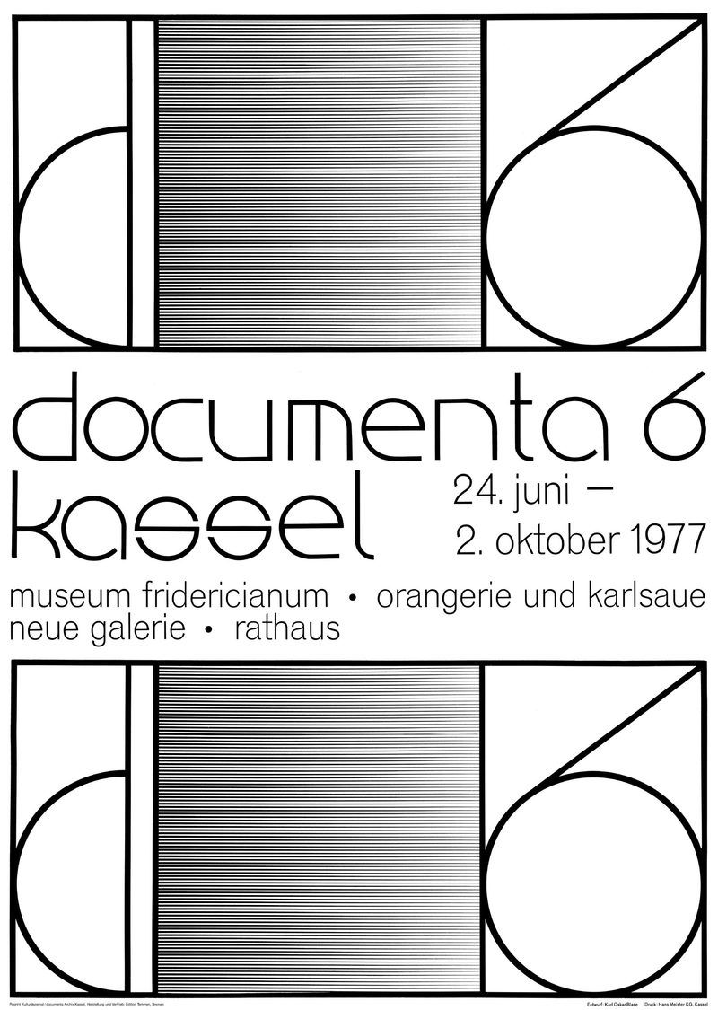 Plakat documenta 6